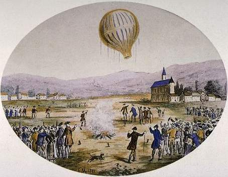 souffl le beauvilliers restaurant 1782 paris hot air balloons and the montgolfier brothers. Black Bedroom Furniture Sets. Home Design Ideas