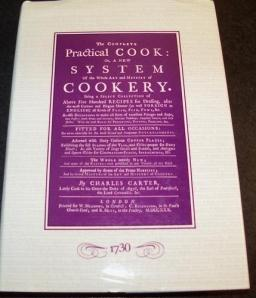 practical cook book 1730