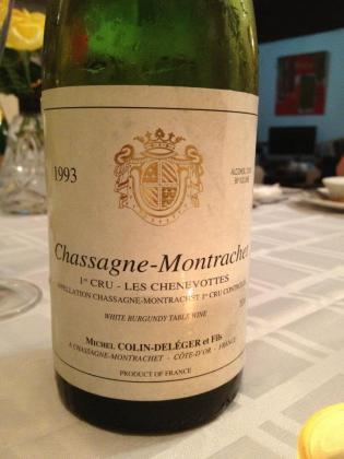 chassagne 1993