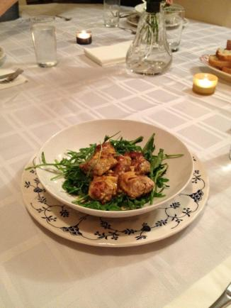 curried sweetbread
